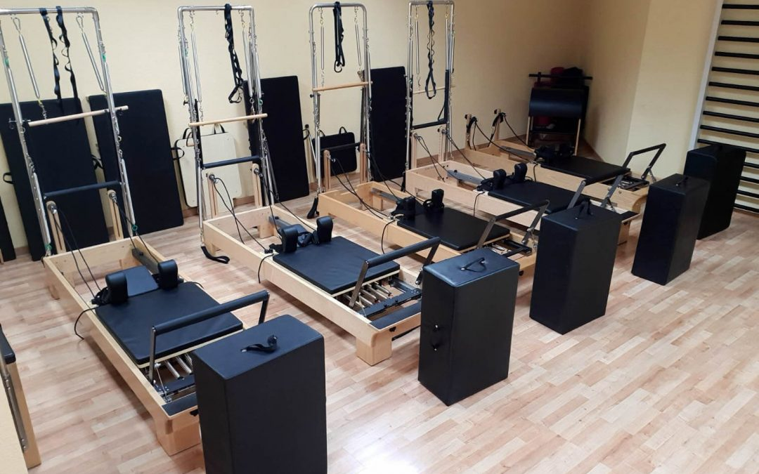 Ya están aquí los nuevos aparatos de Pilates
